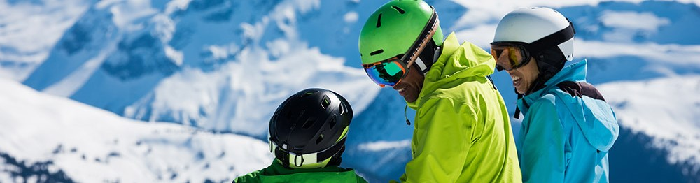 Holiday rentals in family ski resorts