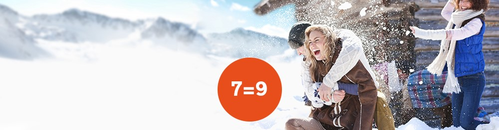 Easter Skiing Special Offer : 7=9