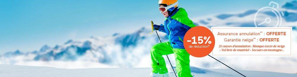 Premières Minutes Ski : -15% de réduction * !