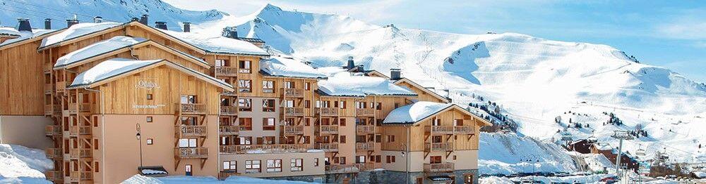 Nos Résidences Front de Neige à la Plagne Village et aux Carroz