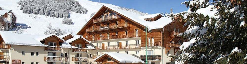 Nos Résidences L'Ours Blanc aux Deux Alpes ou à Valmeinier