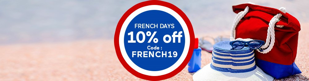 Make the most of our French Days !