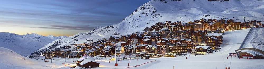 Holiday rentals in ski resorts for beginners