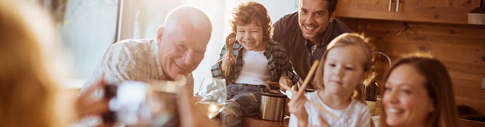 Réunissez toute la famille avec nos locations à grande capacité