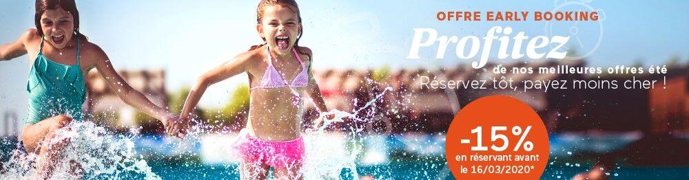 Vacances d'été en premières minutes à -15% avec Odalys