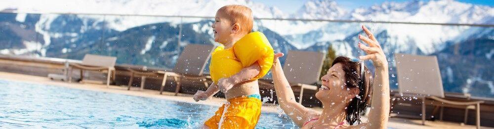 Séjour à la montagne dans une location vacances avec piscine