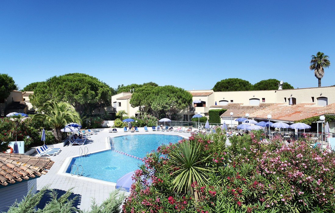 Cap d'Agde - Odalys Club Residence Saint Loup : Outdoor swimming pool