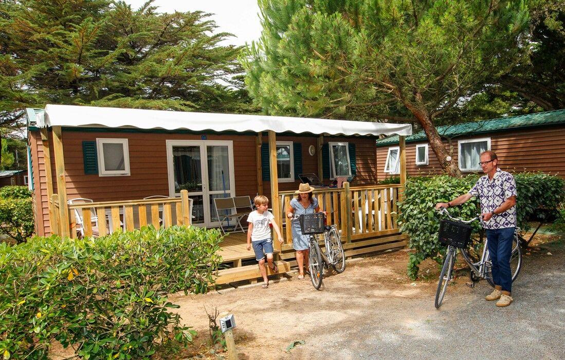 mobile home odalys mobile home campsite tamarins plage. Black Bedroom Furniture Sets. Home Design Ideas