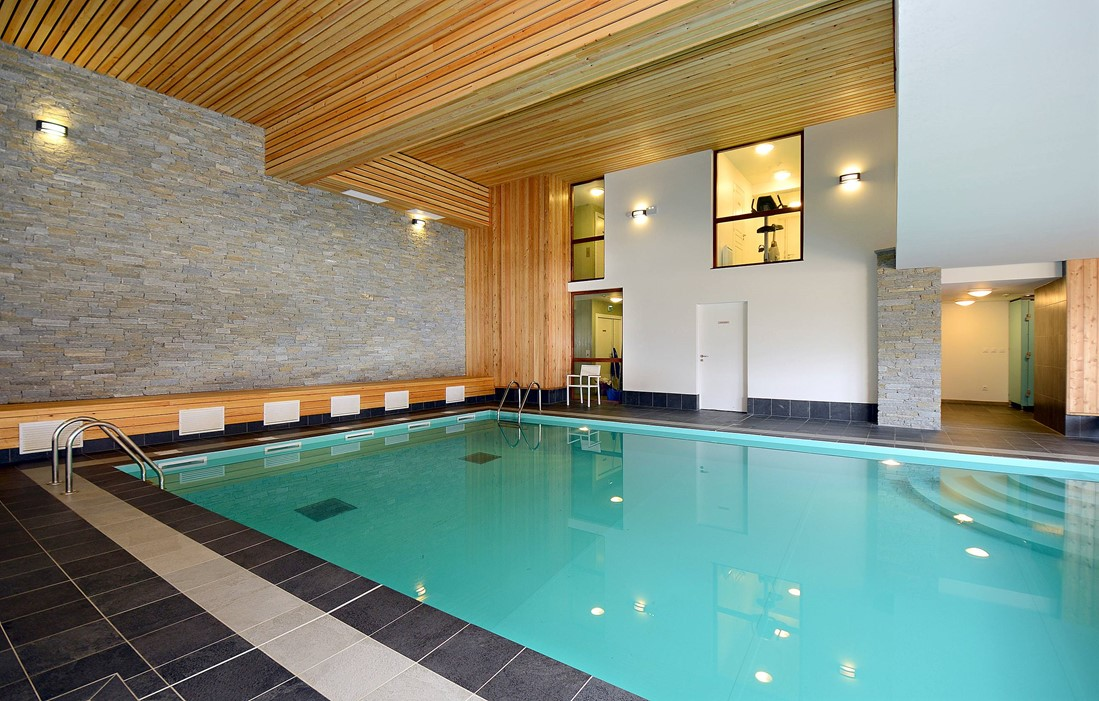 Vaujany - Odalys Prestige Residence La Cascade de Vaujany Les Epinettes : Indoor swimming pool
