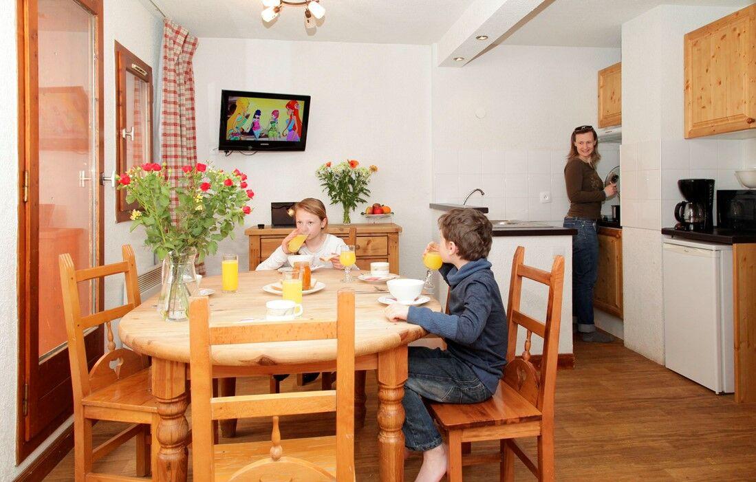 Tignes - Résidences Odalys du Val Claret : Intérieur d'un logement