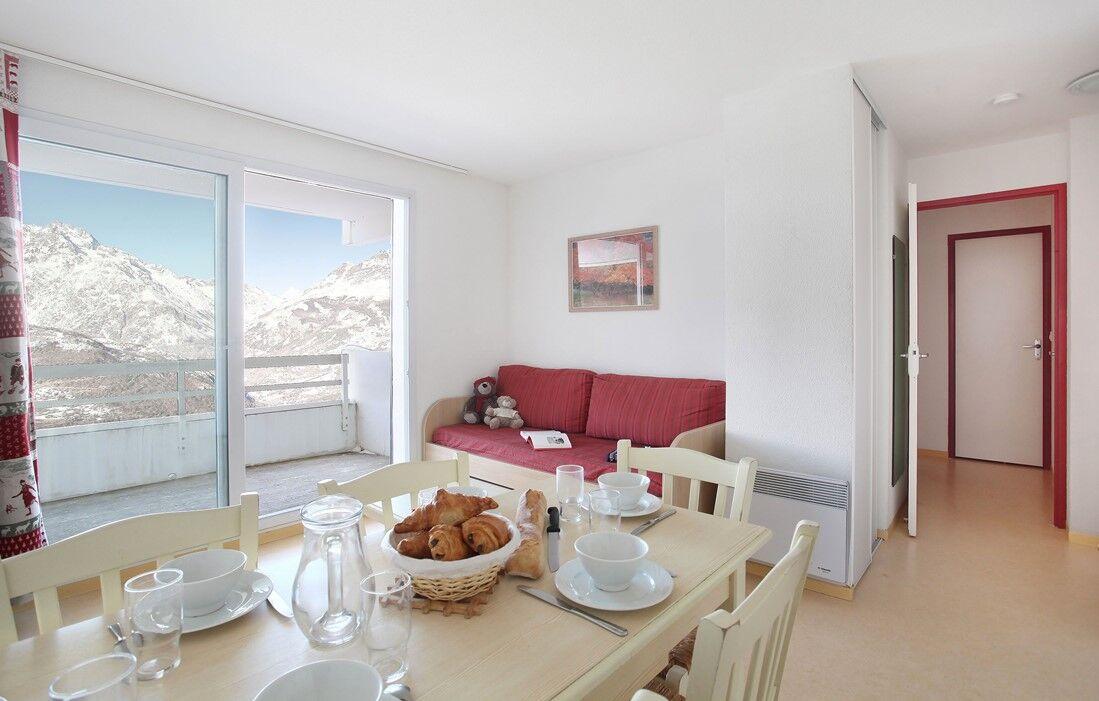 Puy Saint Vincent - Résidence Odalys Puy Saint Vincent : Intérieur d'un logement