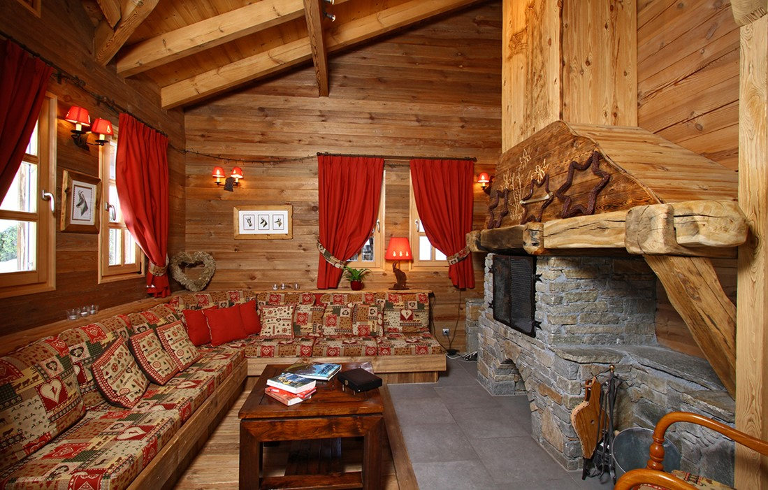 L'Alpe d'Huez - Odalys Chalet Mélusine : Inside of the chalet