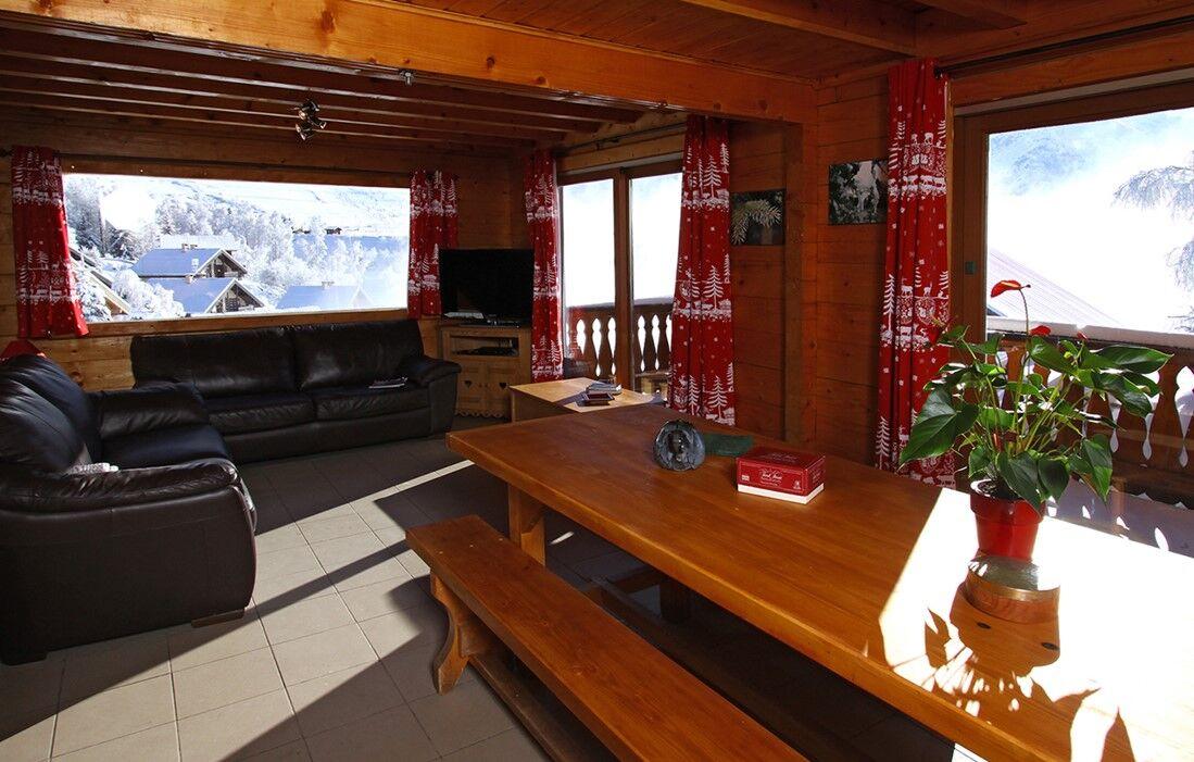 Les Deux Alpes - Chalet Odalys Le Soleil levant : Intérieur du chalet