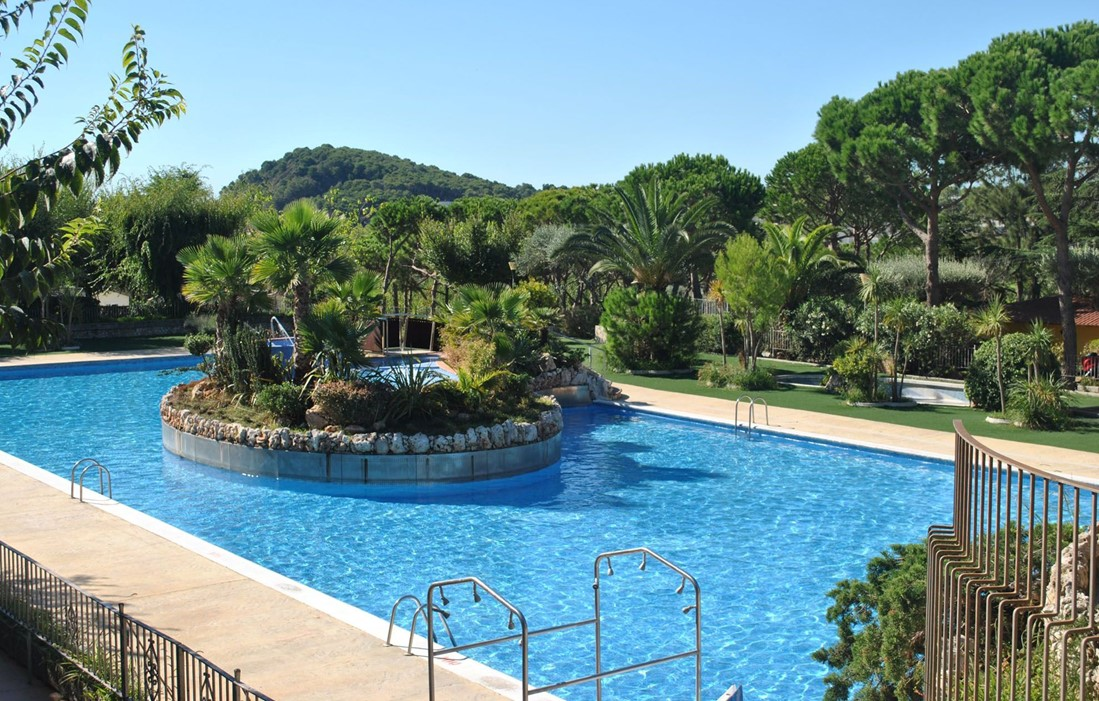 Spain - Palamos - Camping King's : Outdoor swimming pool