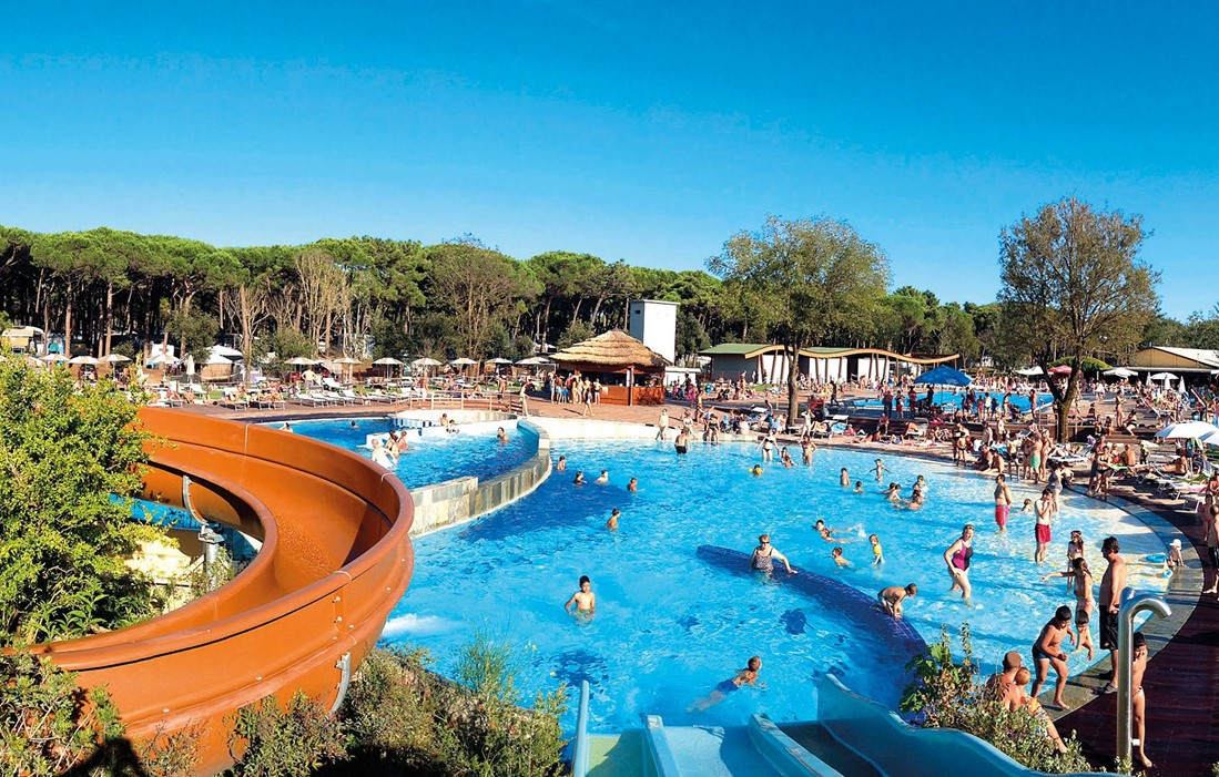 Italy - Lido Di Spina - Club del Sol Spina : Outdoor swimming pool