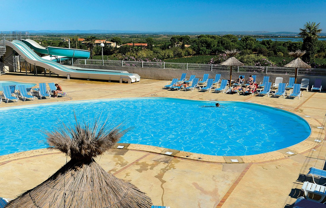 Cap d'Agde - Odalys Camping La Pinède - Outdoor swimming pool