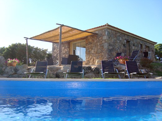 Location villa avec piscine à Pianottoli