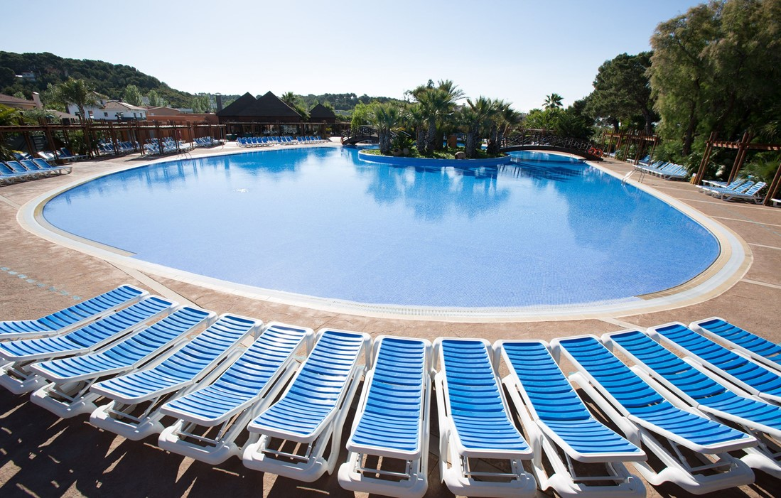 Spain - Altafulla - Camping Torre de la Mora : Outdoor swimming pool