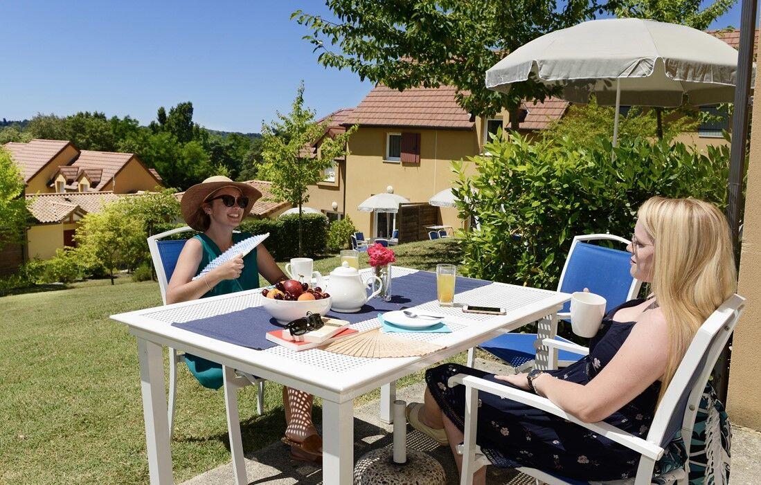 Sarlat - Résidence Club Odalys Les Côteaux de Sarlat : Terrasse d'un logement
