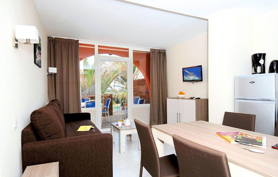 Cap d'Agde - Résidence Odalys du Golfe : Intérieur d'un logement