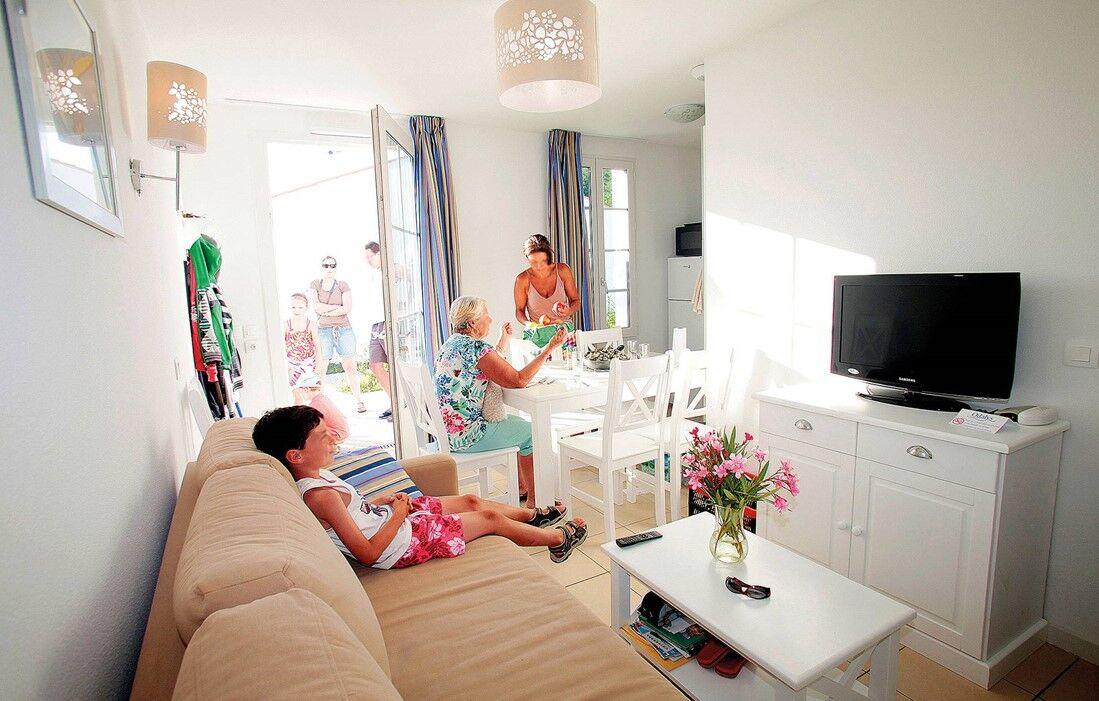 Ile d'Oléron - Résidence Odalys Terre Marine : Intérieur d'un logement