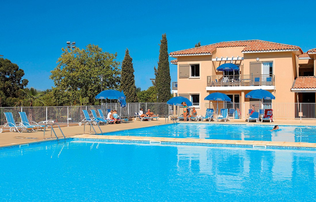 La Londe les Maures - Odalys Club Residence Les Océanides : Outdoor swimming pool
