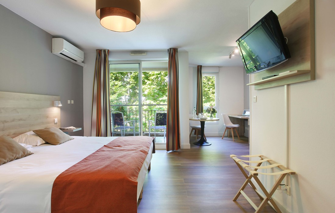 Aix-en-Provence - Appart'hôtel Odalys Le Clos de la Chartreuse : Intérieur d'un logement