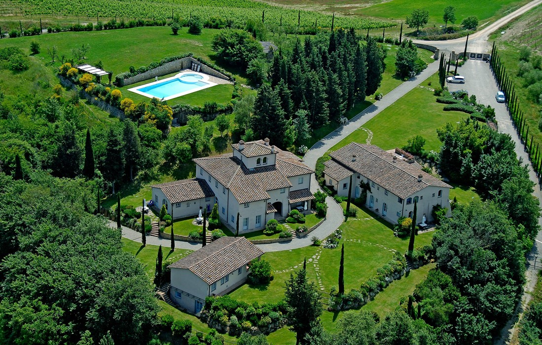 Italy - Gambassi Terme - Residence Borgo della Meliana
