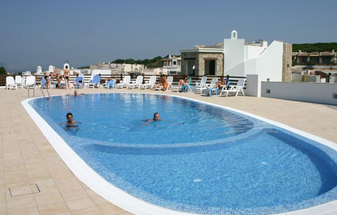 Italy- Sardinia - Residence Vista Blu : Outdoor swimming pool