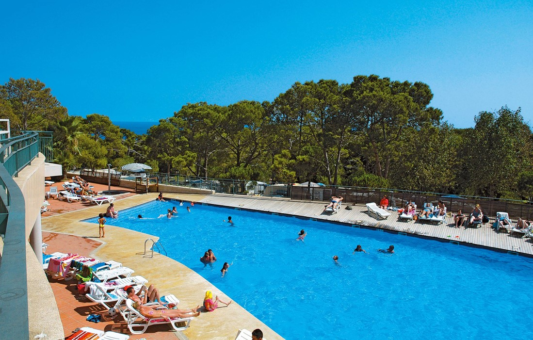 Spain - Calonge - Internacional de Calonge : Outdoor swimming pool
