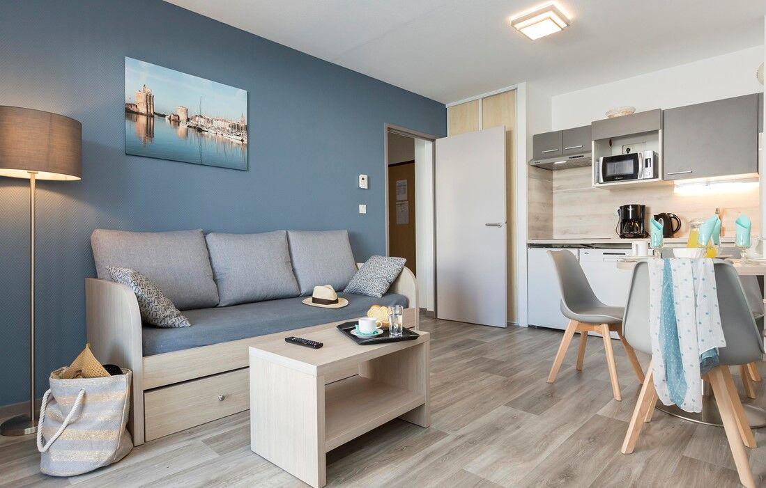 La Rochelle - Résidence Odalys Archipel : Intérieur d'un logement