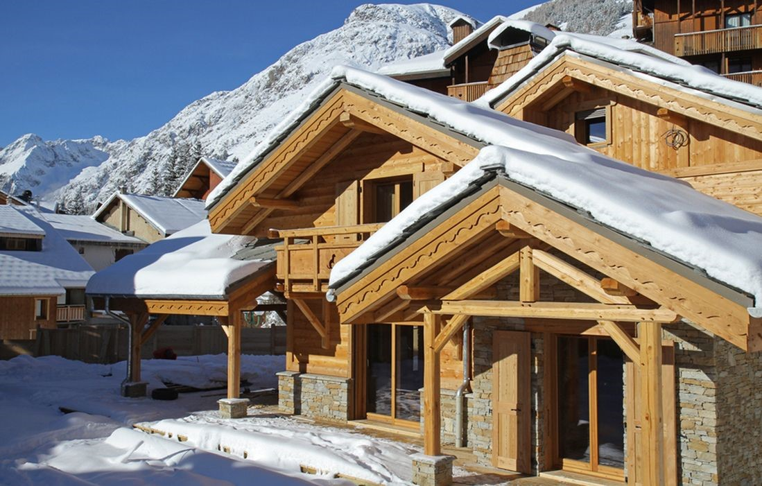 location chalet massif central ski