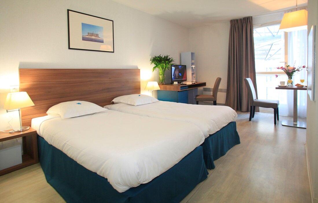 Marseille - Appart'hôtel Odalys Canebière : Intérieur d'un logement