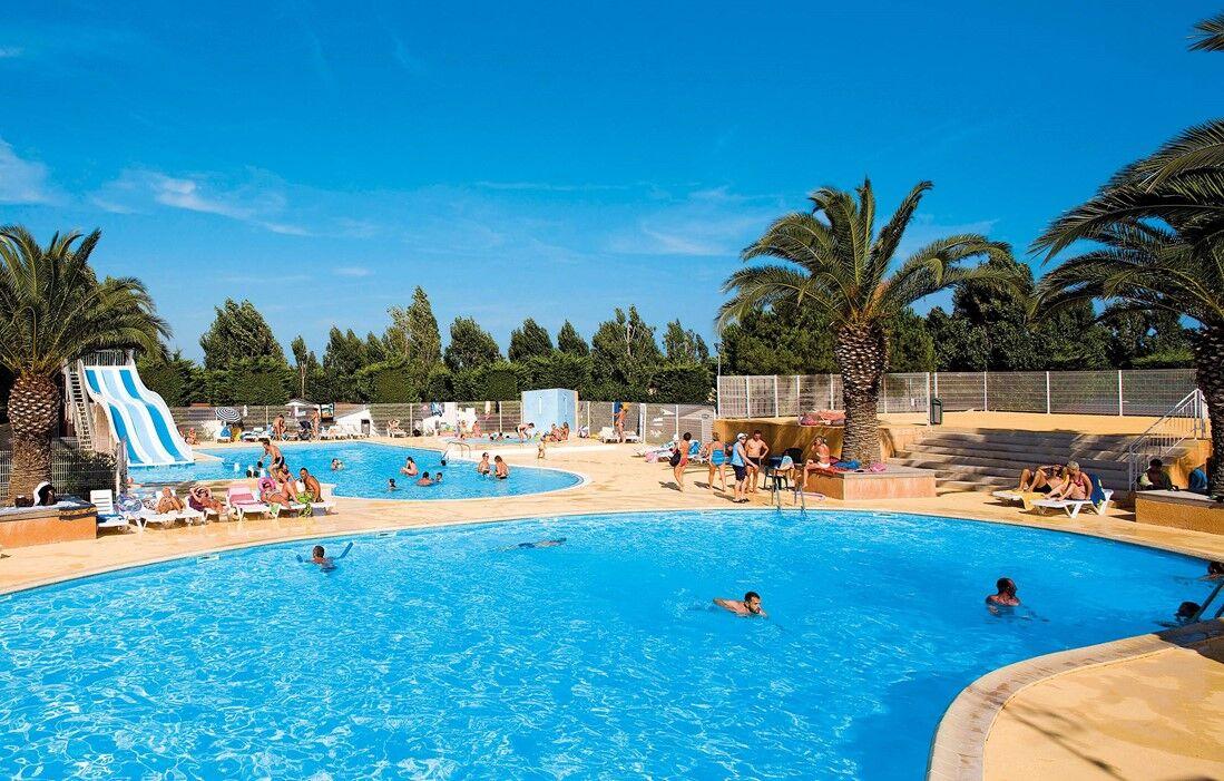 Location Vacances Vic la Gardiole -  Domaine Résidentiel de Plein Air L'Europe : Piscine découverte