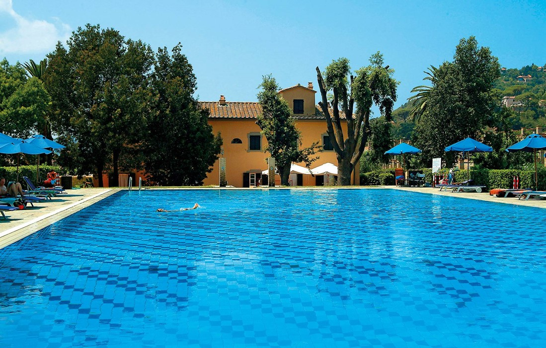 Elba Island - Residence Sant'Anna Del Volterraio : Outdoor swimming pool