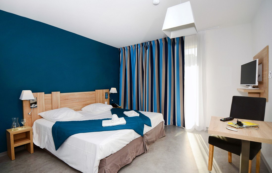 Cap d'Agde - Appart'Hôtel Odalys Nakâra : Intérieur d'un logement