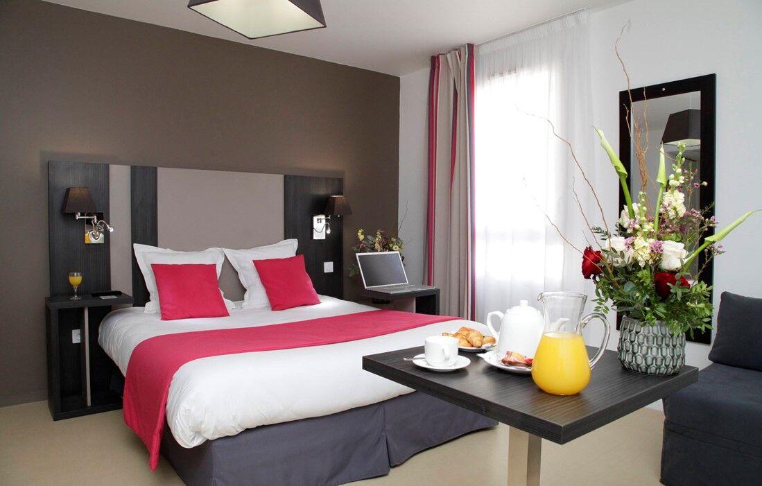 Rennes - Appart'hôtel Odalys Rennes Lorgeril : Intérieur d'un logement