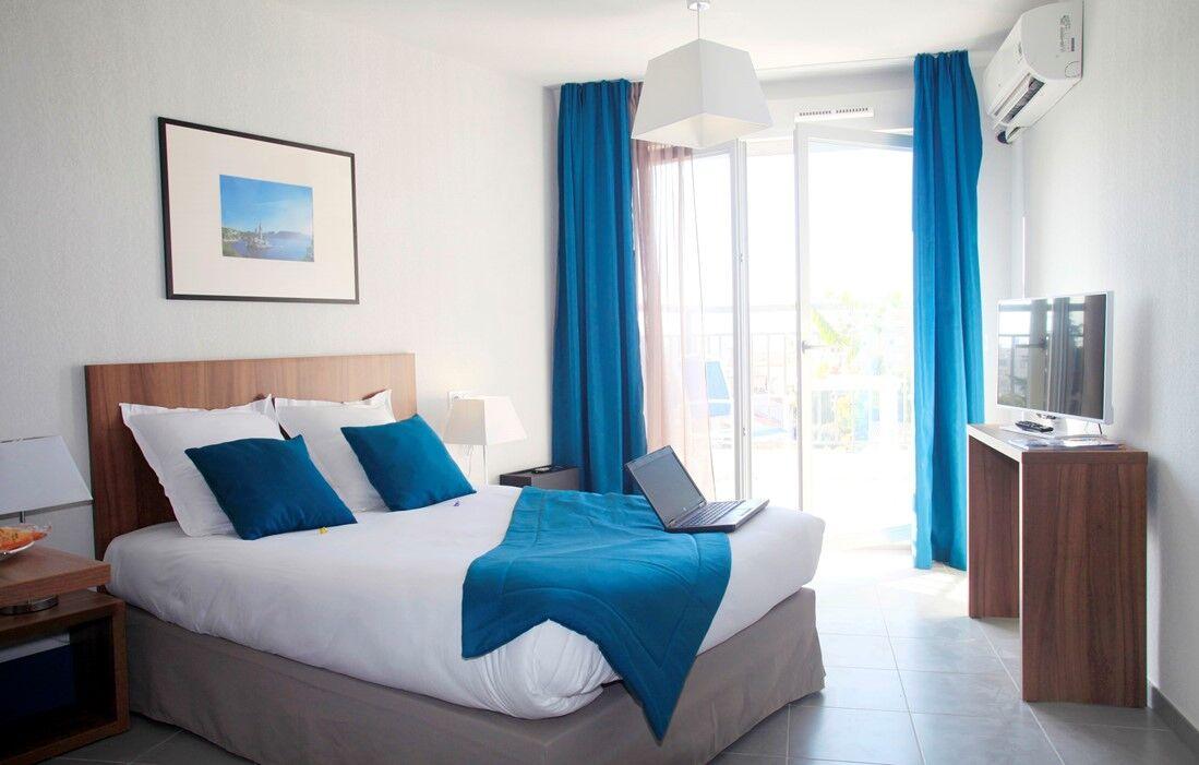 Marseille - Appart'hôtel Odalys L'Alhambra : Intérieur d'un logement