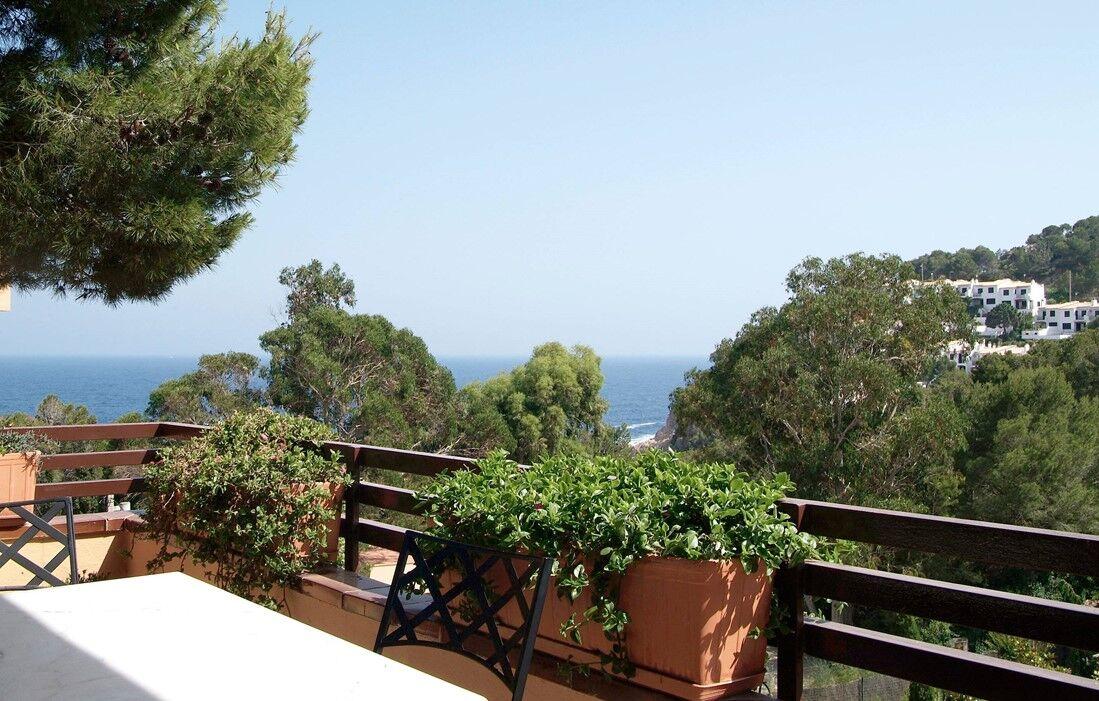 Espagne - Tamariu - Résidence Santa Maria : Vue depuis un logement