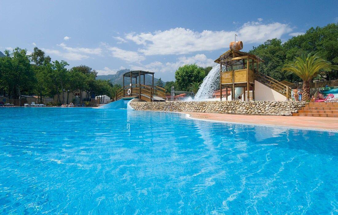 Argelès sur Mer - Campsite Le Bois Fleuri : Outdoor swimming pool