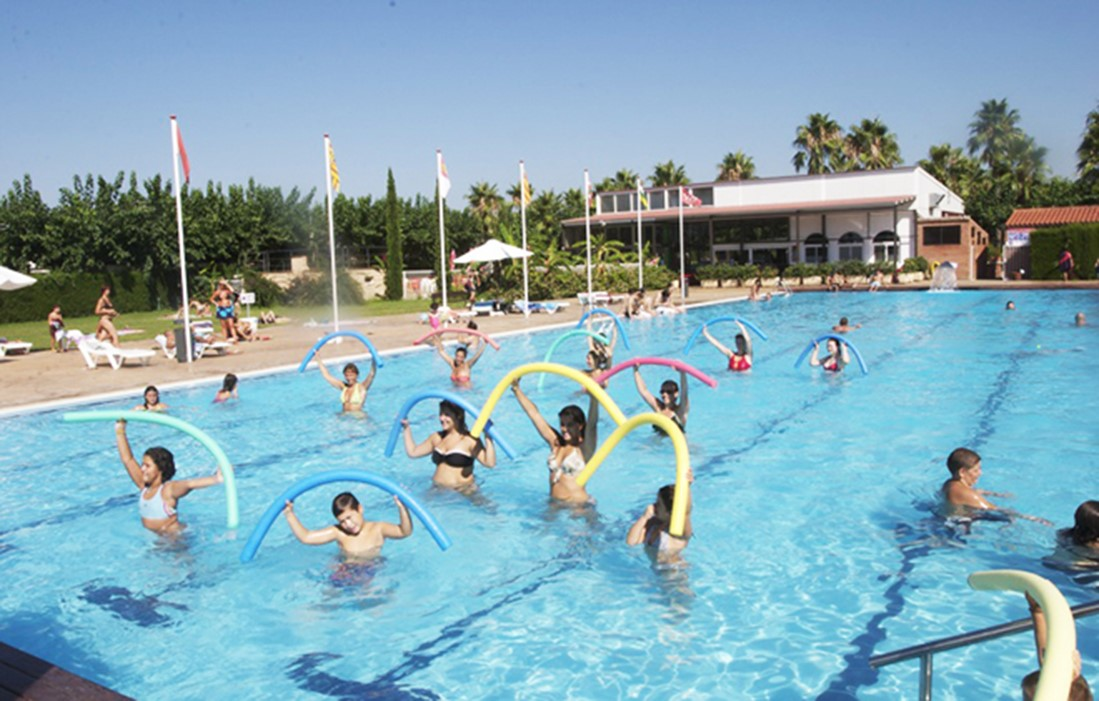 Cambrils - Camping Platja Cambrils ( Don Camilo) : Outdoor swimming pool