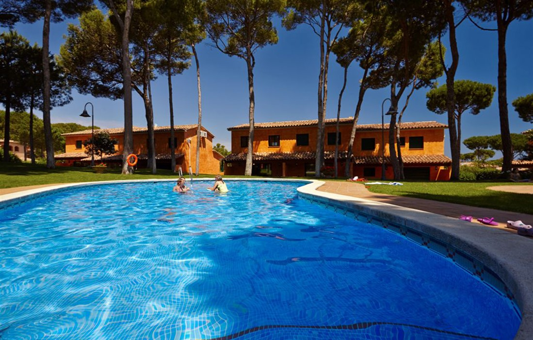 Spain - Playa de Pals - Residence Villas Golf Relax : Outdoor swimming pool