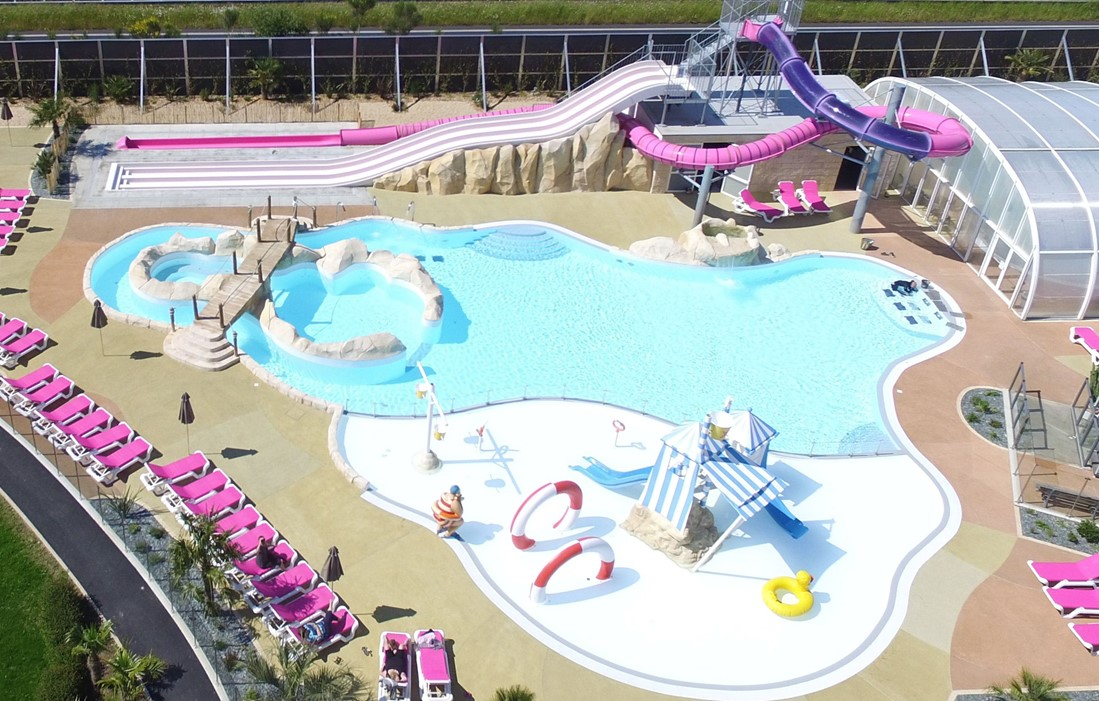 La Baule - Camping La Roseraie : Outdoor swimming pool