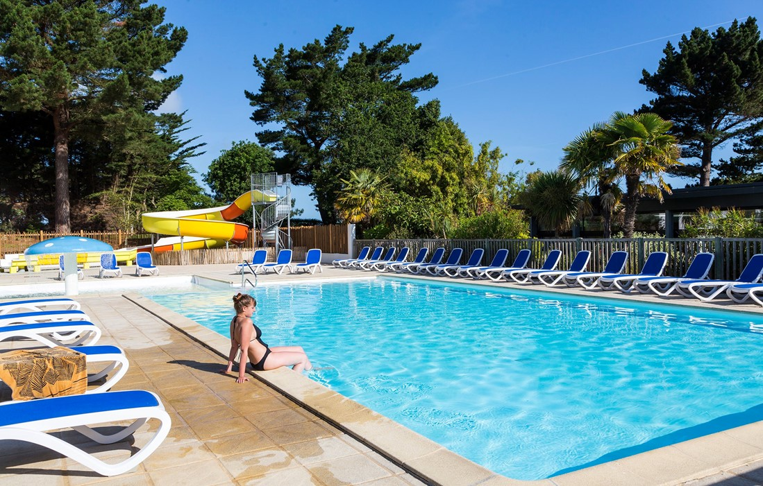 Pleubian - Odalys Camping Port de la Chaîne : Outdoor swimming pool