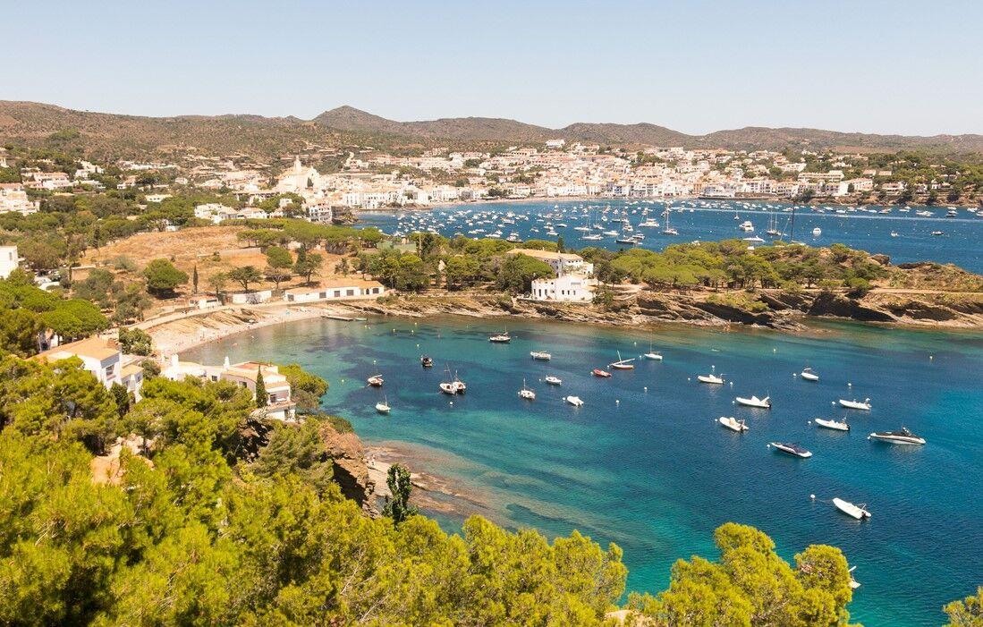 Spain - Cadaqués - Residence Carpe Diem : Outdoor swimming pool