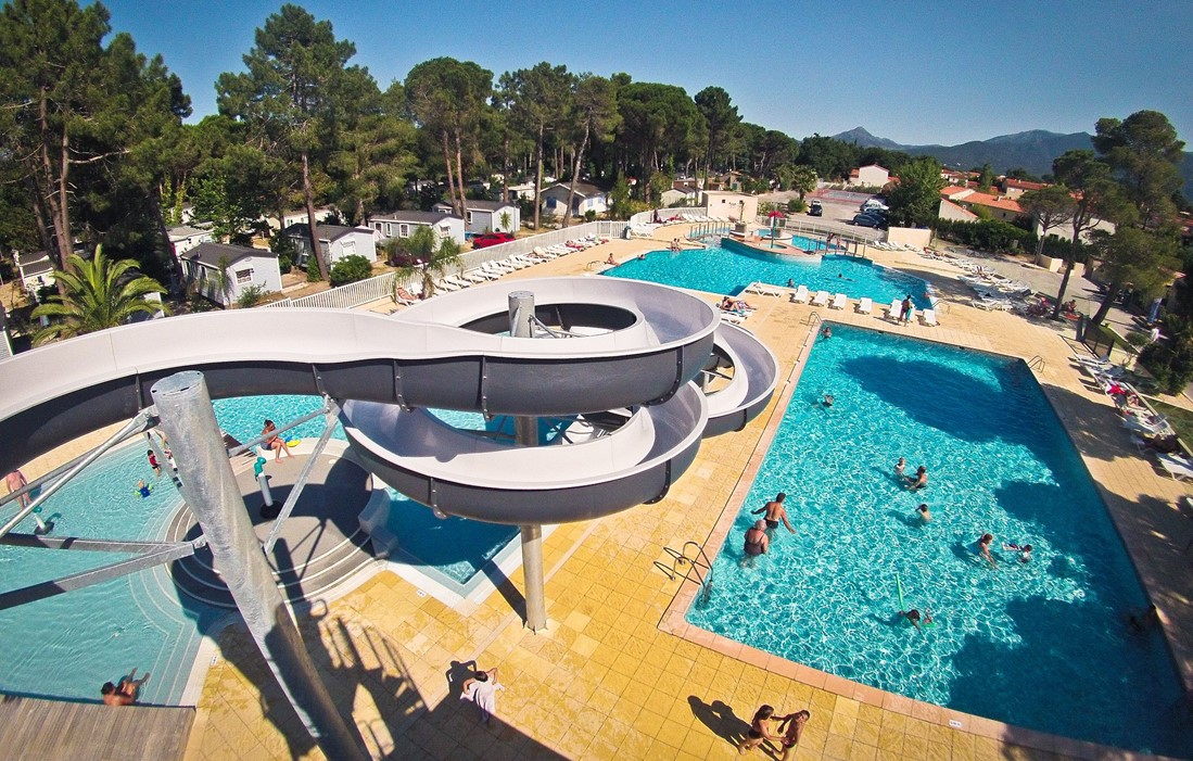 Argelès sur Mer - Camping Taxo les Pins  : Outdoor swimming pool