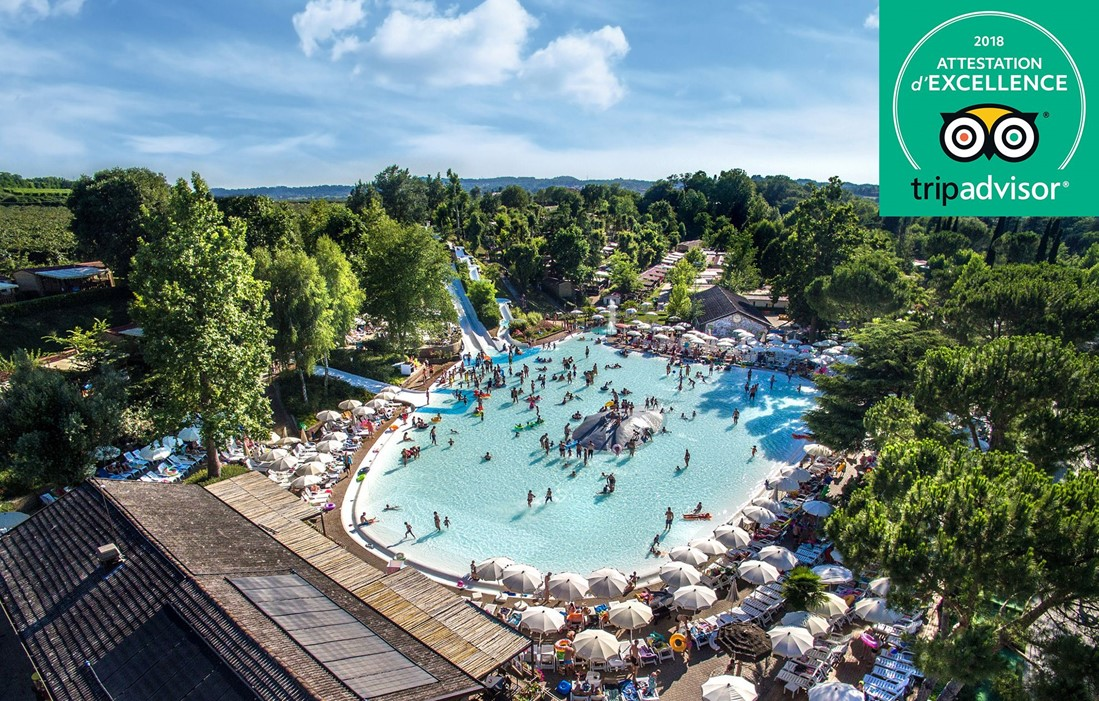 Valeggio Sul Mincio - Camping Altomincio Family Park : Outdoor swimming pool