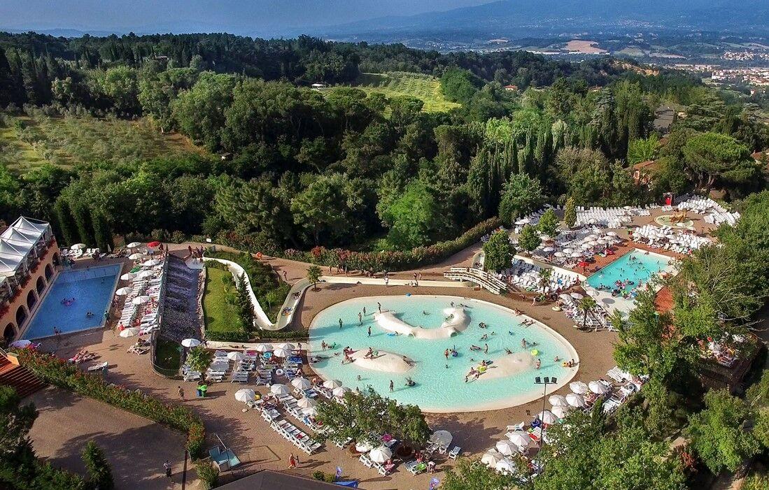 Figline Valdarno - Camping Norcenni Girasole Club : Espace aquatique