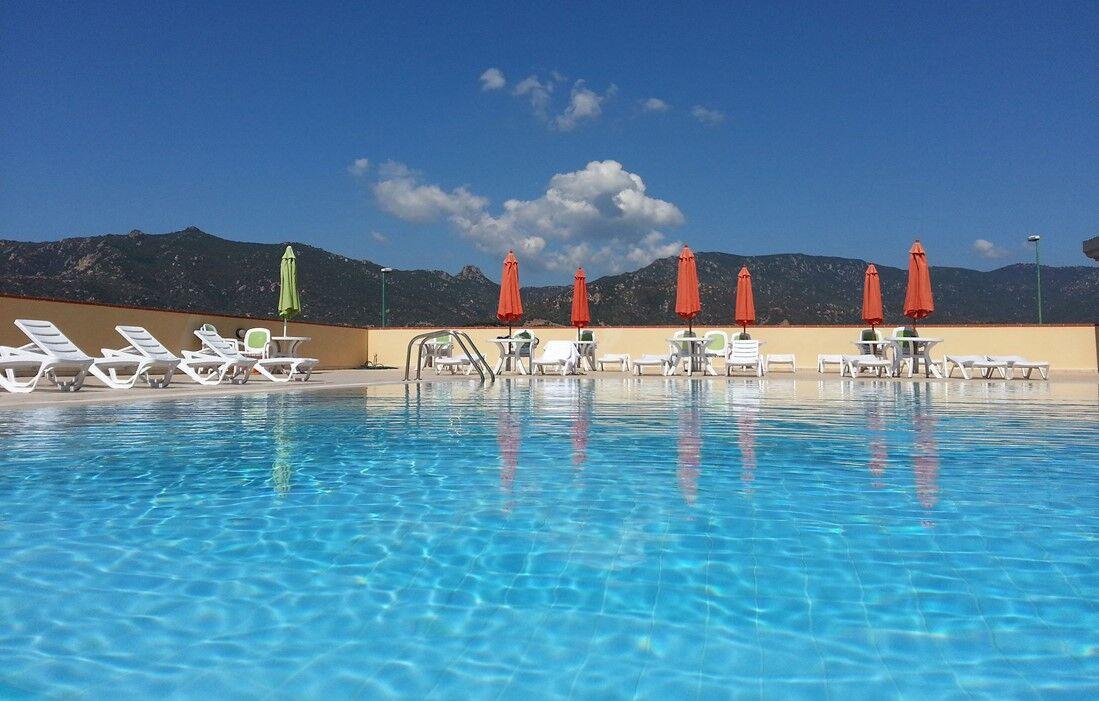 Villasimius - Residence La Fontane : Outdoor swimming pool