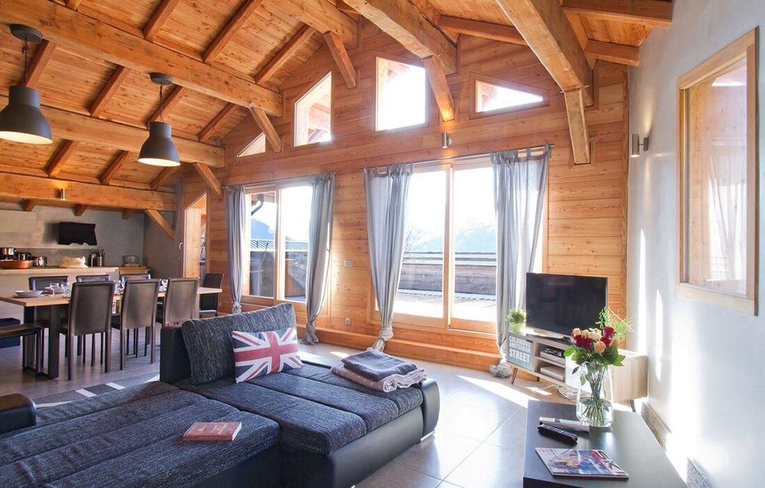 L'Alpe d'Huez - Chalet  De Sarenne : Intérieur du chalet